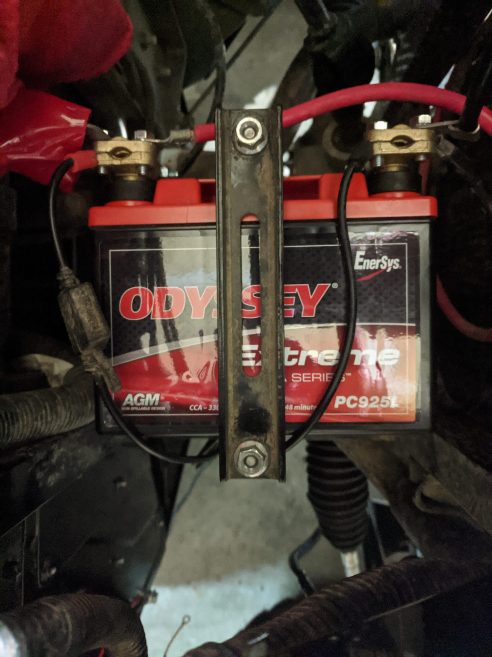 Odyssey battery replaced the stocker
